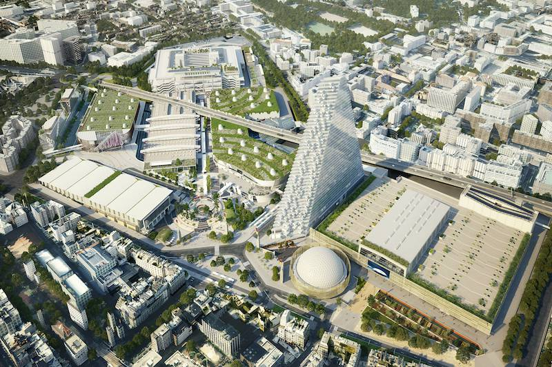 The renovation of paris expo porte de versailles meeting - Electric porte de versailles ...