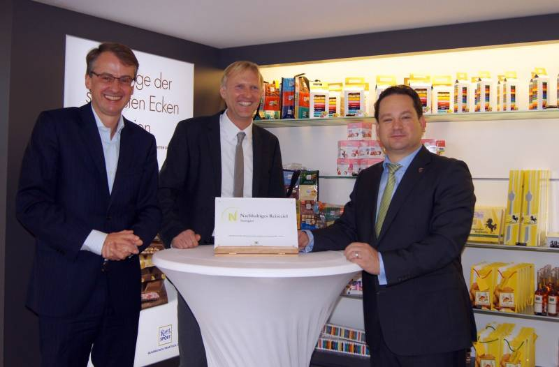 Len Stuttgart stuttgart awarded certification as sustainable destination