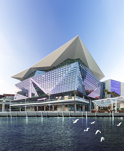 ICC Sydney Convention Centre (credit Guy Wilkinson)